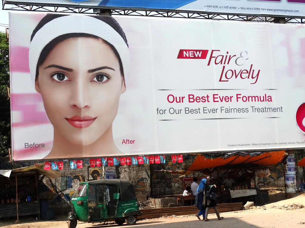 Fair and Lovely Billboard