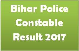 Bihar Police Constable Result
