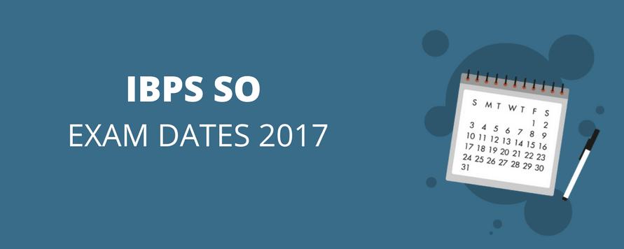 IBPS SO 2017-2018