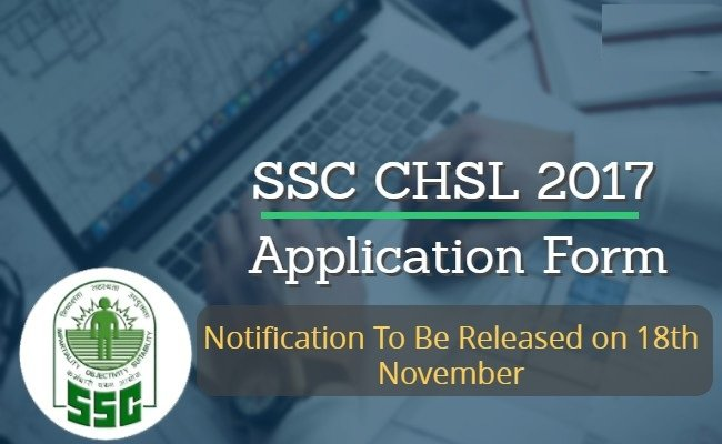 ssc chsl application form 2017