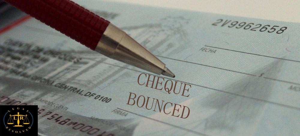 Cheque Bounce case