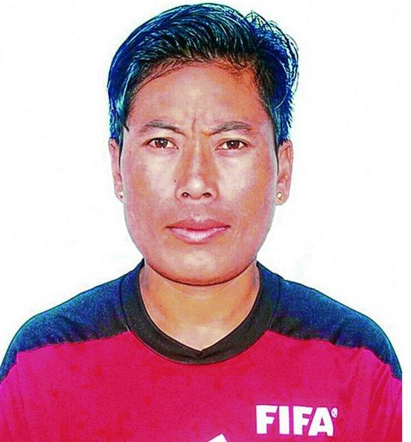 Tekcham Ranjita From Manipur Is Awarded As FIFA Referee Badge