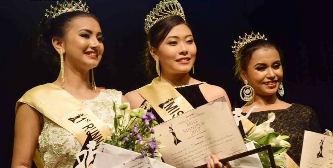 Miss Manipur 2017 Winner Is Thounaojam Strela