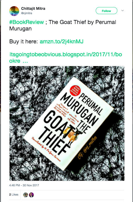"""Review: Why """"The Goat Thief"""" Should Be On Your Reading List 