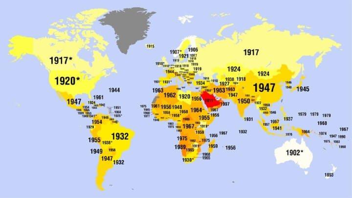Women-Suffrage Around The World