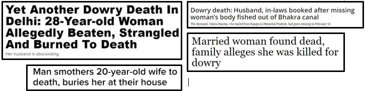 dowry death definition