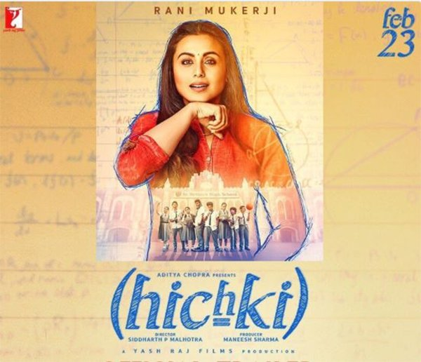 Rani Mukerji from Hichki