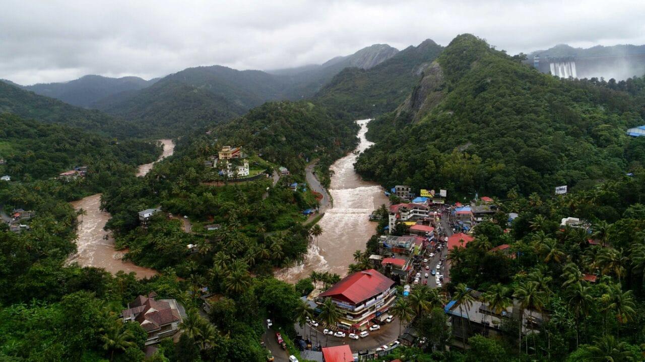 Kerala Floods. Source: Kerala CMO Twitter