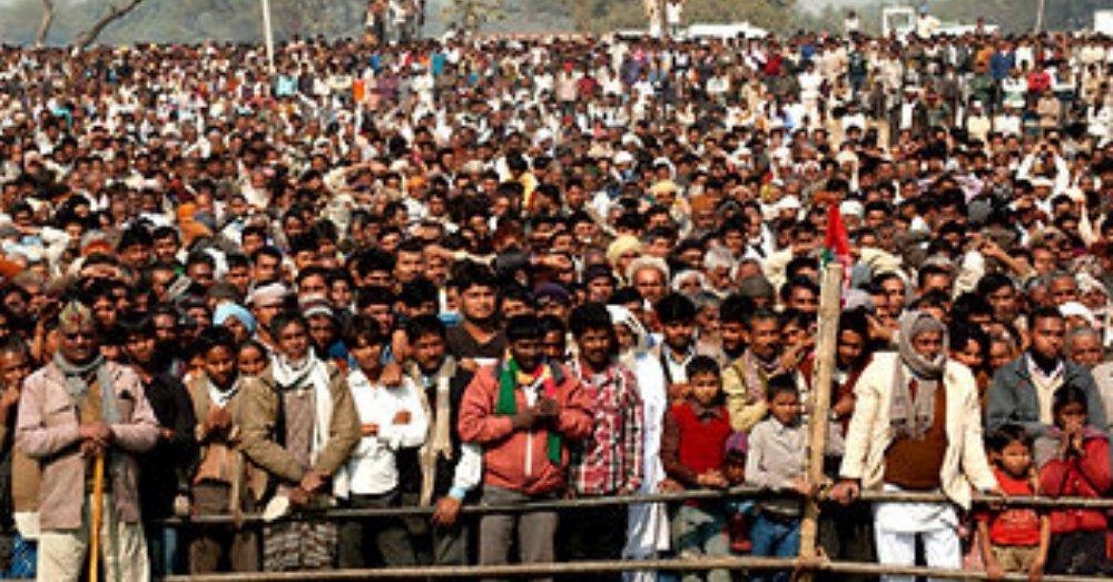रैली में भीड़