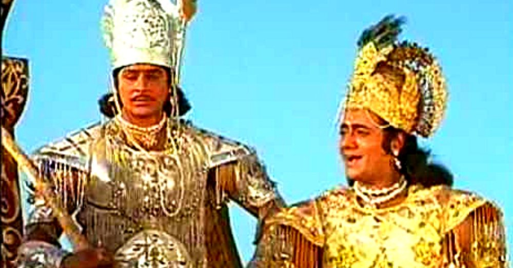Connection Of Mahabharat serial With Ram Mandir demonstration