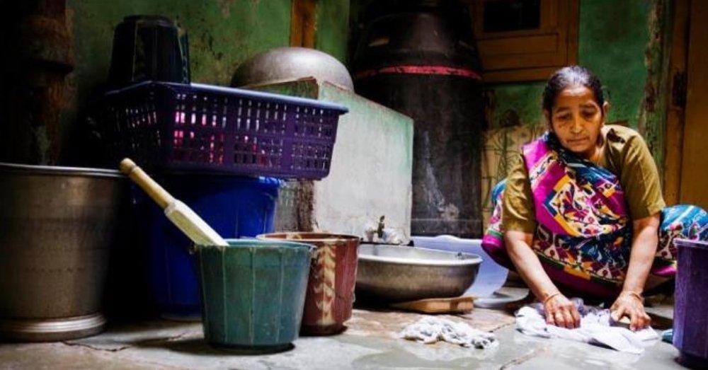 घरेलू कामगार महिला की प्रतीकात्मक तस्वीर