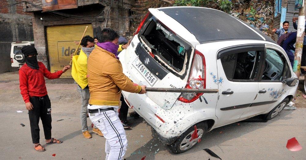 पुलवामा अटैक के बाद जम्मू में दंगे