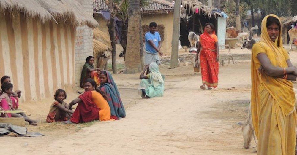 गाँव के लोग