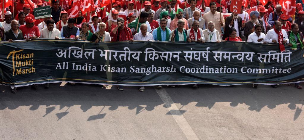 Farmer's protest in India