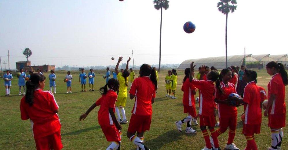 Bihar Football girl's team