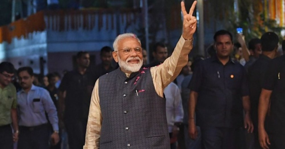 Modi Victory