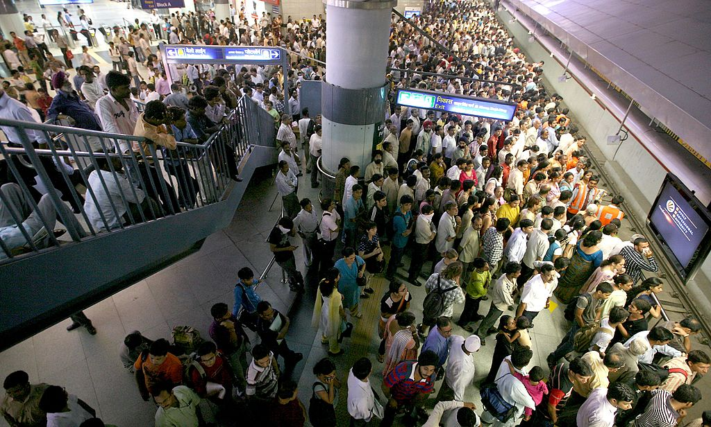 Free metro rides in Delhi
