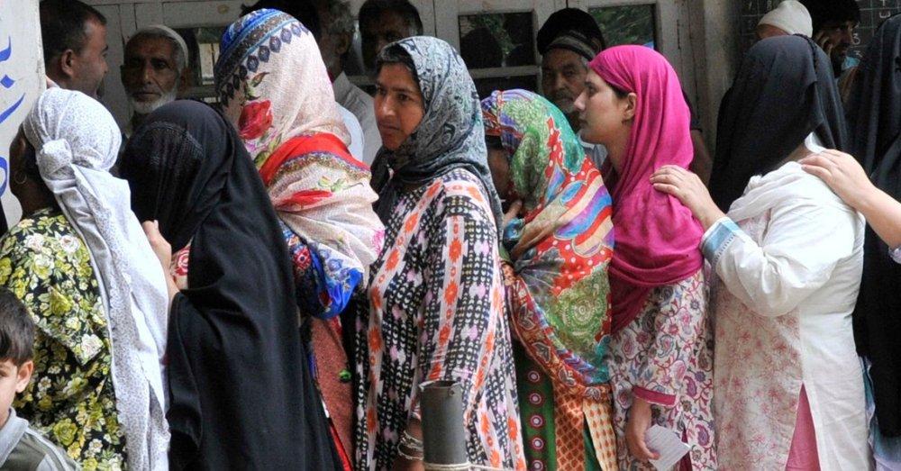 कश्मीरी महिलाएं