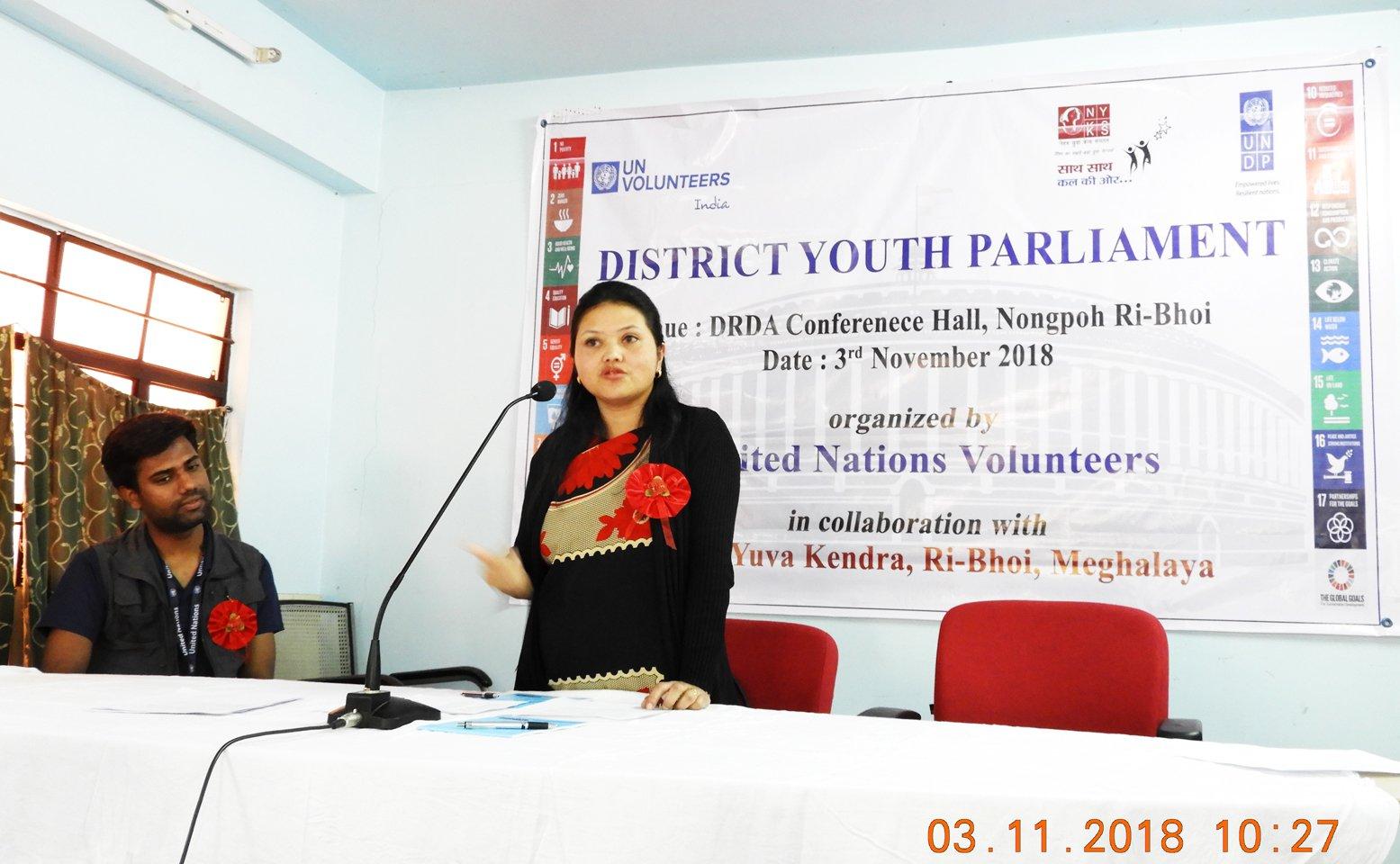 SSmt. V. A. Hynniewta, MCS, Extra Assistant Commissioner, Ri Bhoi District