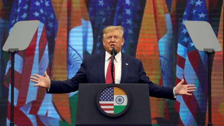 Prez Trump at Howdy, Modi