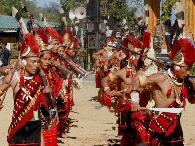 Hornbill Festival, Nagaland, Image Credits: economictimes.indiatimes.com