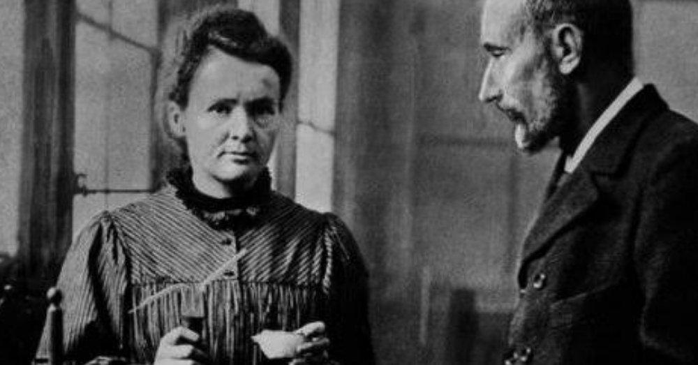 मैडम क्यूरी और उनके पति
