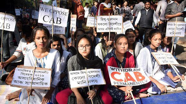 Anti-CAB protests in Assam.