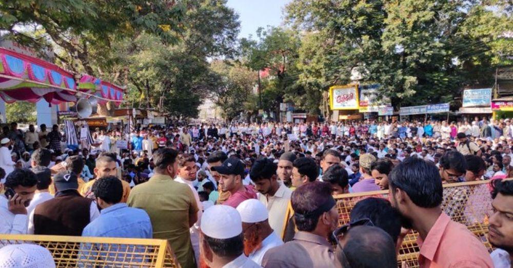 नागरिकता कानून के खिलाफ विरोध प्रदर्शन। फोटो साभार- सोशल मीडिया