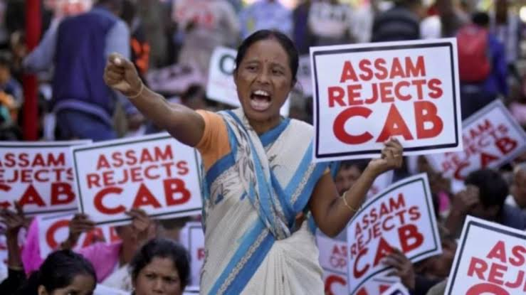 Anti-CAB protest in Assam