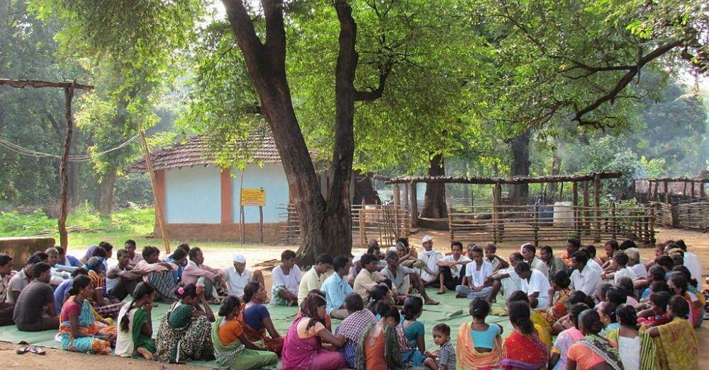 Panchayat in session