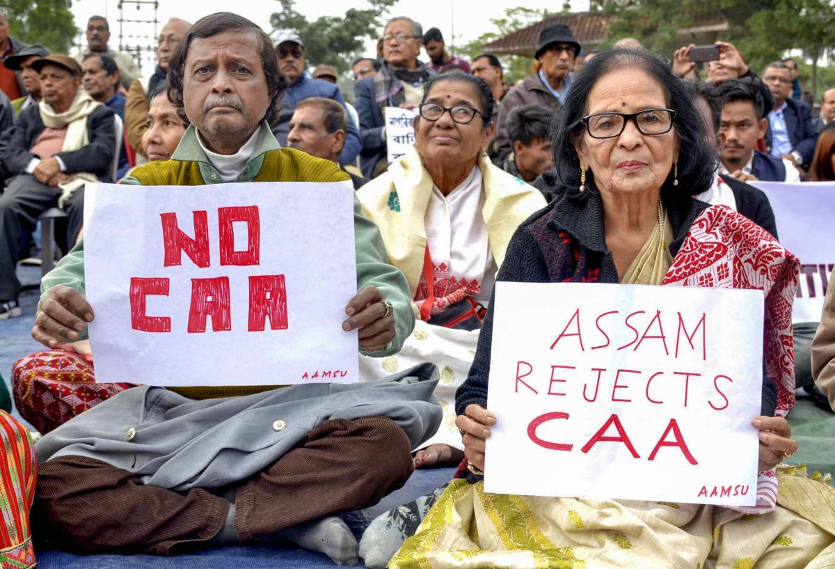 Anti-CAA Protests Assam