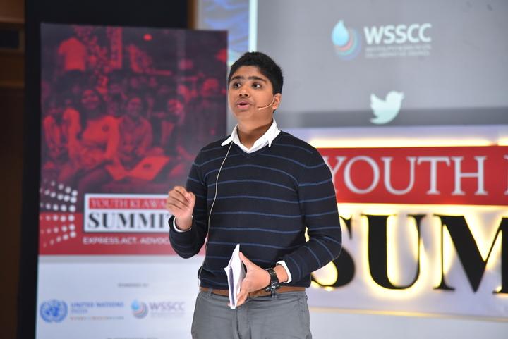 Climate Activist Aman Sharma at YKA Summit 2019