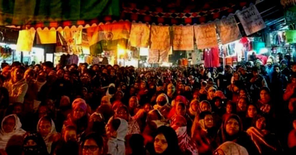 Sabzi bagh protest