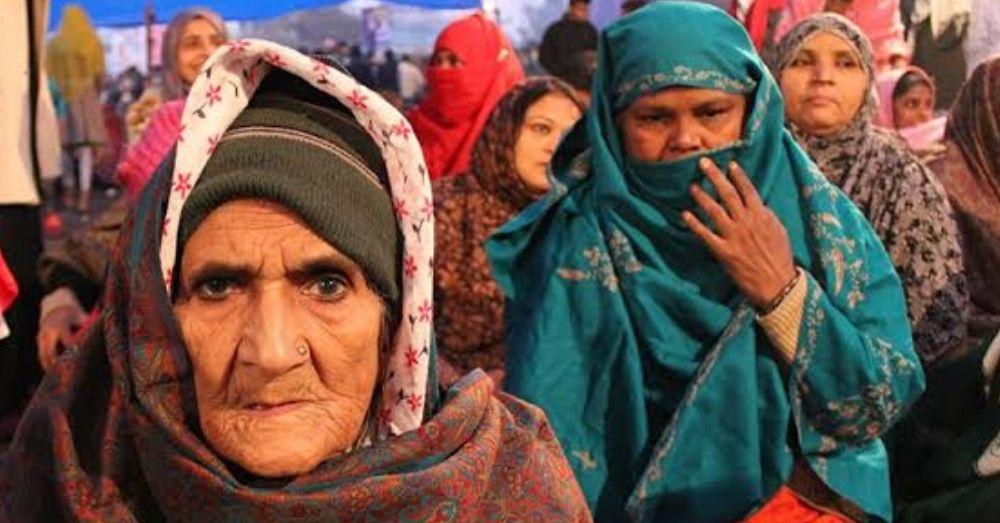शाहीन बाग की महिलाएं। फोटो साभार- सोशल मीडिया