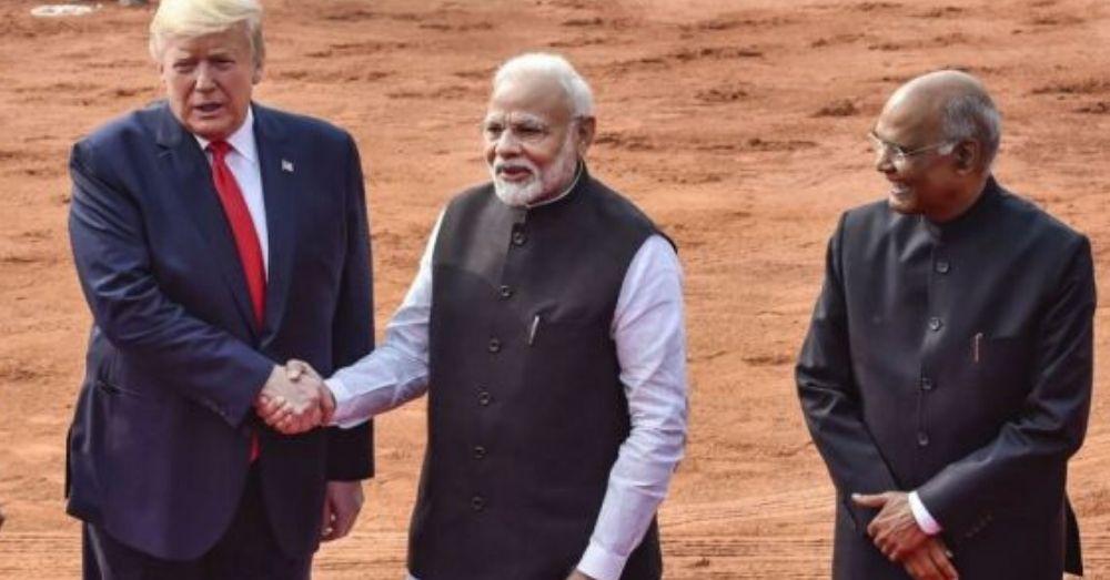 Trump in Delhi