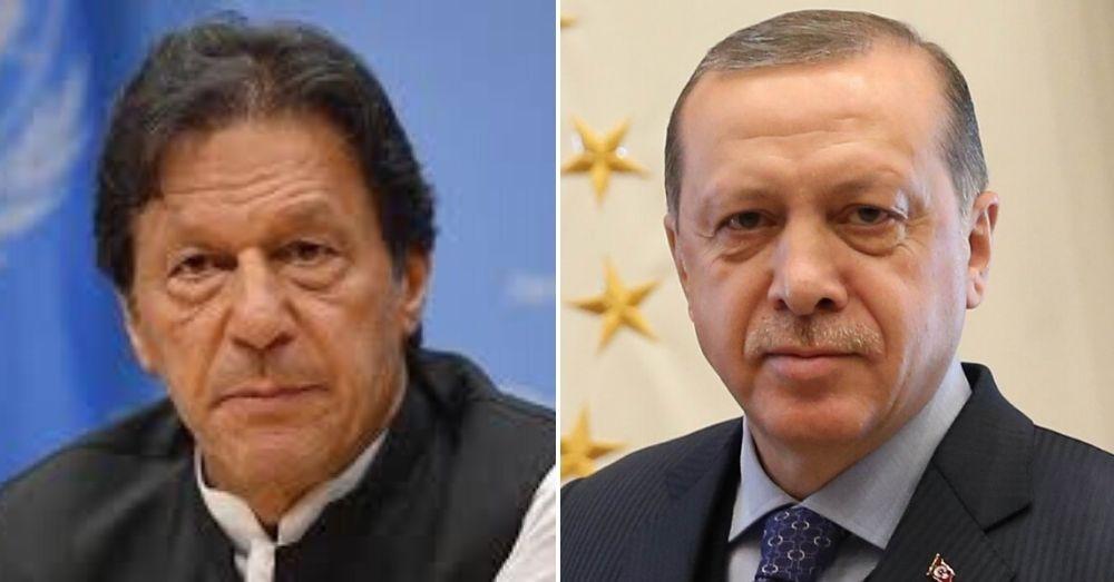 इमरान खान और रजब तैयब इरदुगान