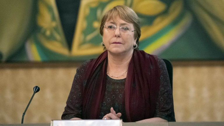 Michelle Bachelet, high commissioner for human rights at the United Nations