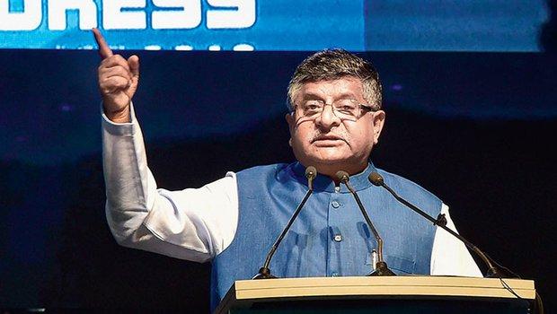 Union It and Law minister Ravi Shankar Prasad