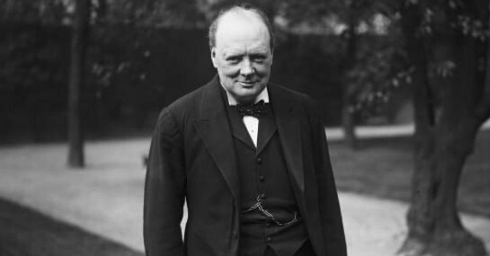 इंग्लैंड के पूर्व प्रधानमंत्री विन्सटन चर्चिल