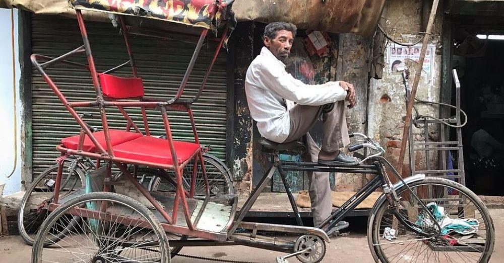 rickshaw puller
