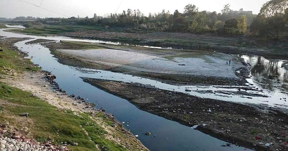 Shahjahanpur river polluted by factories, pollution, water pollution, rivers, shahjahanpur