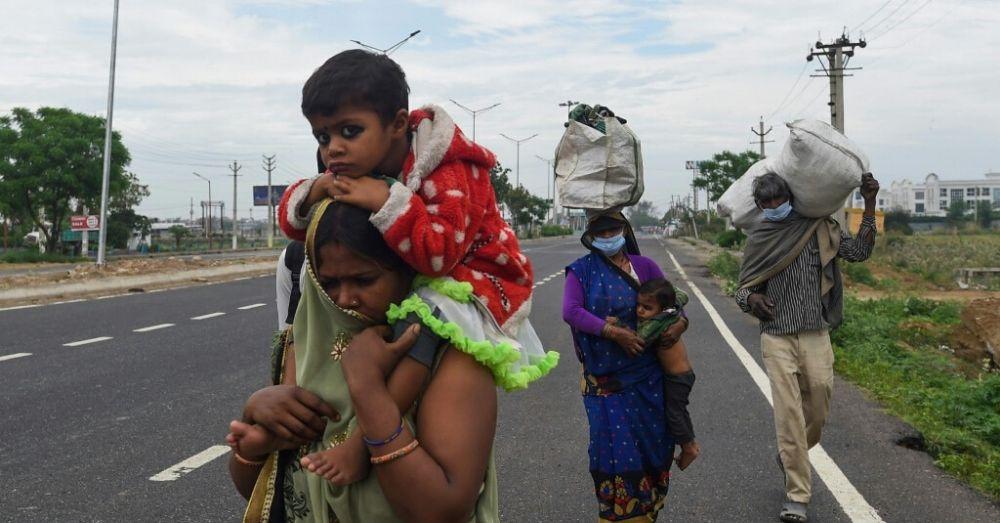 migrant labourers india lockdown