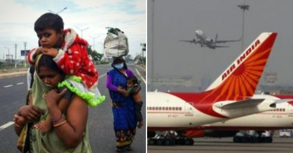 Air India, flight, corona virus, workers, india, lockdown, government