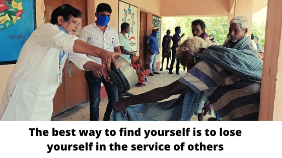 Service to mankind is service to Nation