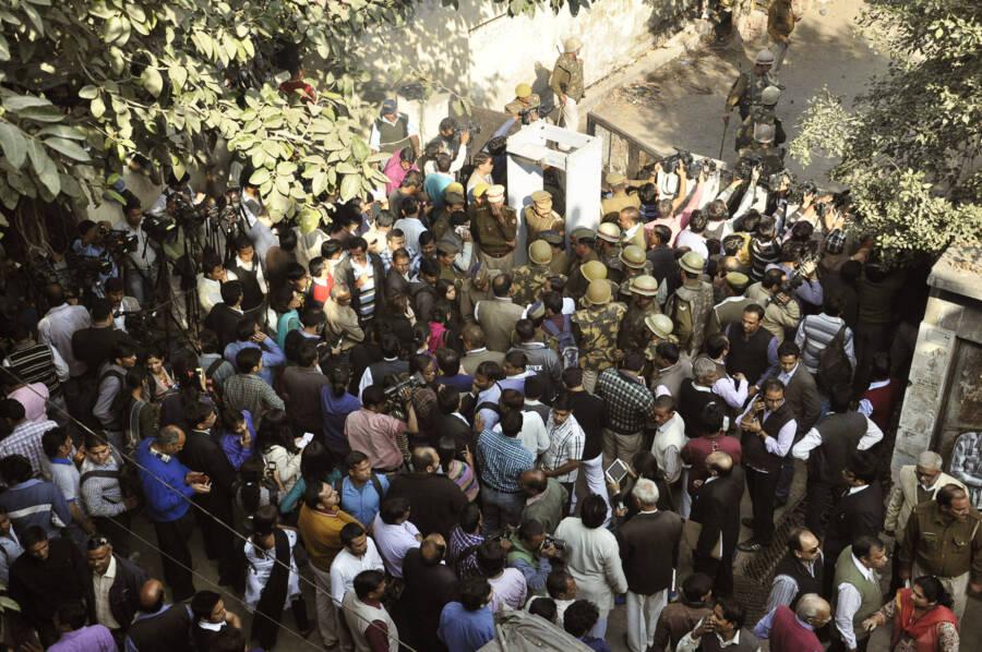 media trial against talwars