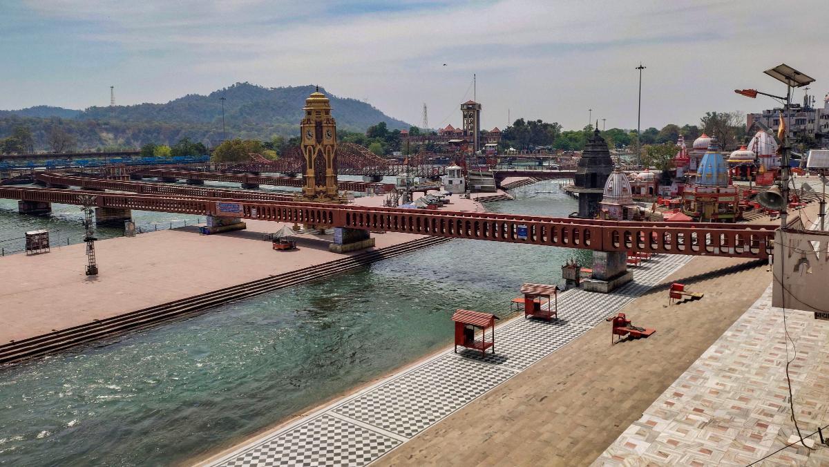 Ganga in Haridwar