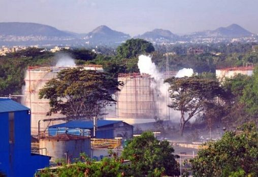 gas leak in vizag