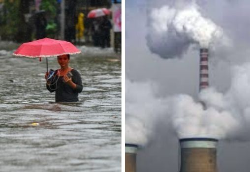 air pollution and flooding