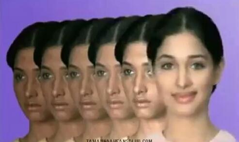tamannah bhatia fair and lovely ad