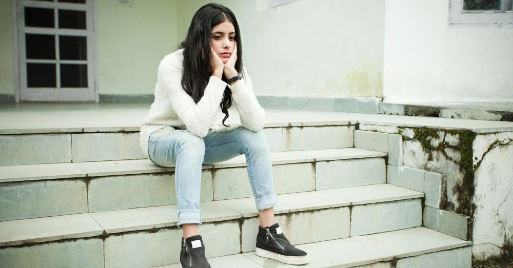 depression sad girl